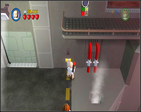 Destroy the panels near the doors to get through - Death Star Escape - Story Mode - Episode IV - LEGO Star Wars II: The Original Trilogy - Game Guide and Walkthrough