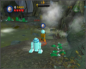 2 - Dagobah - Story Mode - Episode V - LEGO Star Wars II: The Original Trilogy - Game Guide and Walkthrough