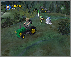 4 - Dagobah - Story Mode - Episode V - LEGO Star Wars II: The Original Trilogy - Game Guide and Walkthrough