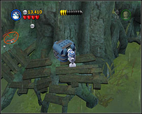 From now on Luke can use the Force on his own, and Yoda is playable just as any other character (and is still kicking but just like he did in the previous Lego Star Wars) - Dagobah - Story Mode - Episode V - LEGO Star Wars II: The Original Trilogy - Game Guide and Walkthrough