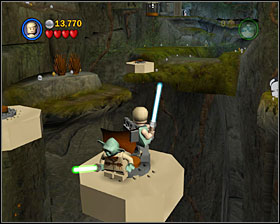 5 - Dagobah - Story Mode - Episode V - LEGO Star Wars II: The Original Trilogy - Game Guide and Walkthrough