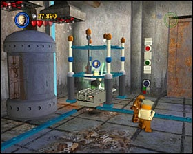 Destroy the orange weights that keep the gate closed - Jabba's Palace - Story Mode - Episode VI - LEGO Star Wars II: The Original Trilogy - Game Guide and Walkthrough