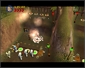 3 - The Battle of Endor - Story Mode - Episode VI - LEGO Star Wars II: The Original Trilogy - Game Guide and Walkthrough