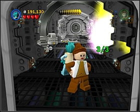 To find this minikit, you'll have to destroy 3 objects, which locations are shown on the screenshots - Secret Plans - Freeplay Mode - Episode IV - LEGO Star Wars II: The Original Trilogy - Game Guide and Walkthrough