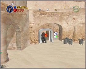 Minikit - Mos Eisley Spaceport - Freeplay Mode - Episode IV - LEGO Star Wars II: The Original Trilogy - Game Guide and Walkthrough