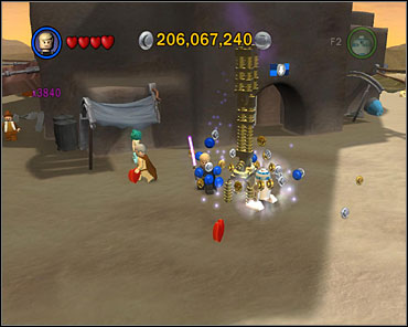 Hundreds of millions of studs are a matter of seconds when you have x3840 multiplier - Bonus Features - Misc - LEGO Star Wars II: The Original Trilogy - Game Guide and Walkthrough