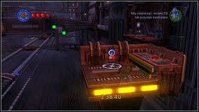 As Jango Fett, keep going straight until you reach a train hangar [1] - Bounty Hunter Missions - p. 1 - Other - LEGO Star Wars III: The Clone Wars - Game Guide and Walkthrough