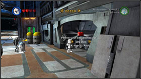 That way you will open the gate with a big silver trophy behind it [1] - Red Bricks - Separatist Ship - Other - LEGO Star Wars III: The Clone Wars - Game Guide and Walkthrough
