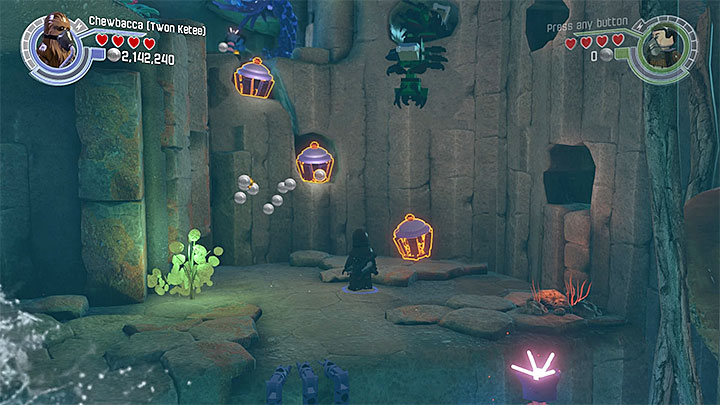 rathtar hunting   walkthrough - lego star wars: the force