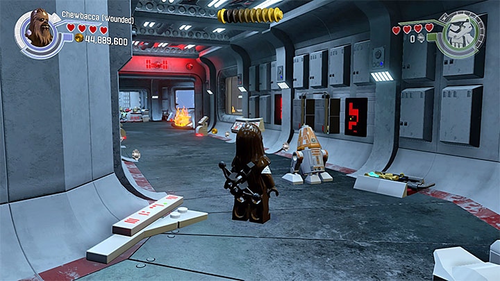 trouble over taul minikits and red bricks lego star wars the