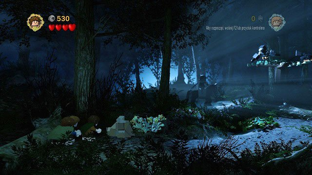You will need to reach the ferryboat while remaining unnoticed by the enemy - The Black Rider - Walkthrough - Act I - LEGO The Lord of the Rings - Game Guide and Walkthrough