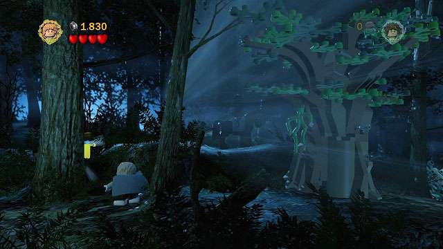 This time The Black Rider won't be idle, instead he will be patrolling the area - The Black Rider - Walkthrough - Act I - LEGO The Lord of the Rings - Game Guide and Walkthrough