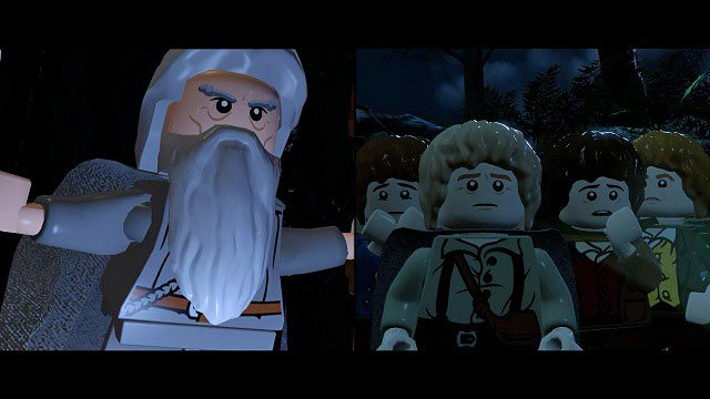 The game will then move to Orthank - Saruman's base - The Black Rider - Walkthrough - Act I - LEGO The Lord of the Rings - Game Guide and Walkthrough