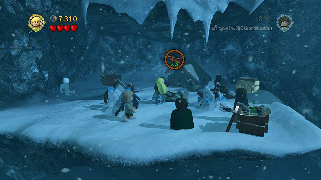 You will reach en encampment - The Pass of Caradhras - Walkthrough - Act I - LEGO The Lord of the Rings - Game Guide and Walkthrough