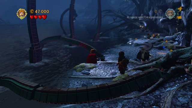 ...almost - The Pass of Caradhras - Walkthrough - Act I - LEGO The Lord of the Rings - Game Guide and Walkthrough