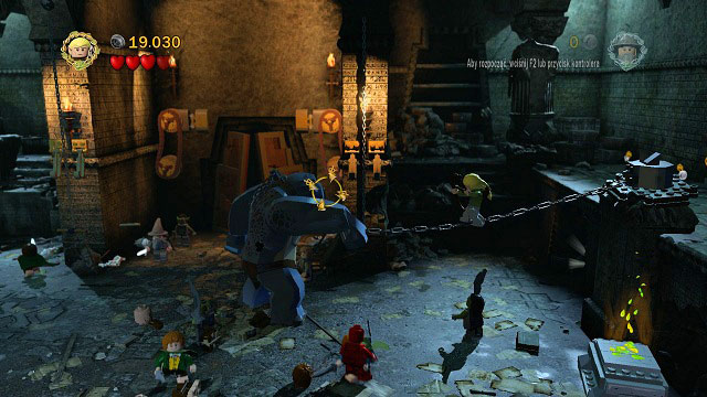 Now you need to switch to Legolas - The Mines of Moria - Walkthrough - Act I - LEGO The Lord of the Rings - Game Guide and Walkthrough