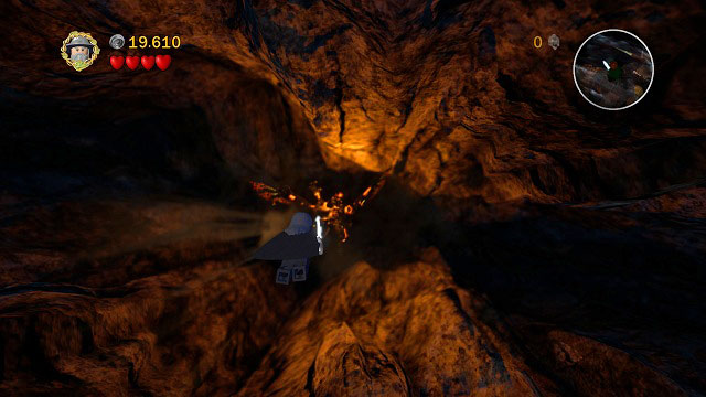 Now you will have to control Gandalf the Grey during his fight with Balrog - The Mines of Moria - Walkthrough - Act I - LEGO The Lord of the Rings - Game Guide and Walkthrough