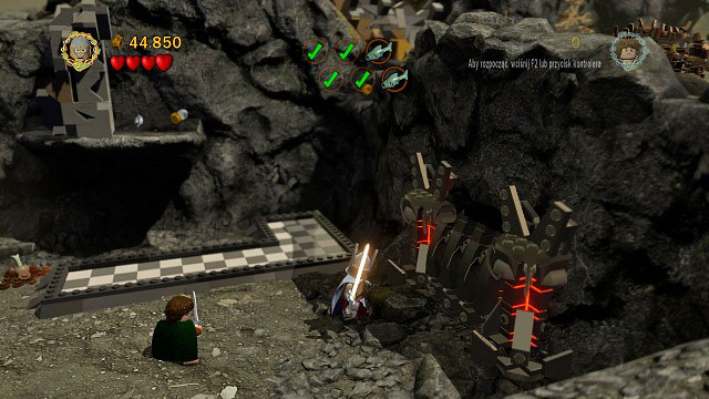 Lego Lord Of The Rings Taming Gollum Collectibles