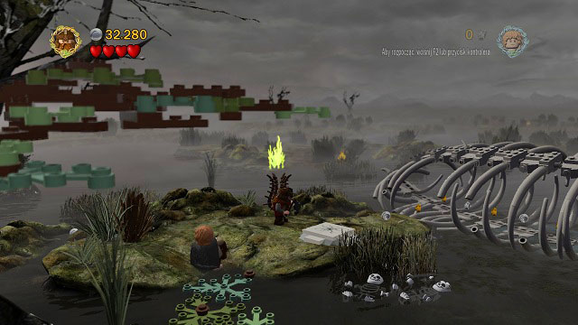 1 - The Dead Marshes - Collectibles - LEGO The Lord of the Rings - Game Guide and Walkthrough