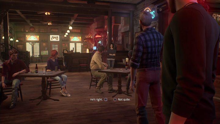 Этот эпизод начинается со встречи в баре - Life is Strange True Colors: Встреча со Стефом - прохождение - Эпизод 2 Фонари - Life is Strange True Colors Guide