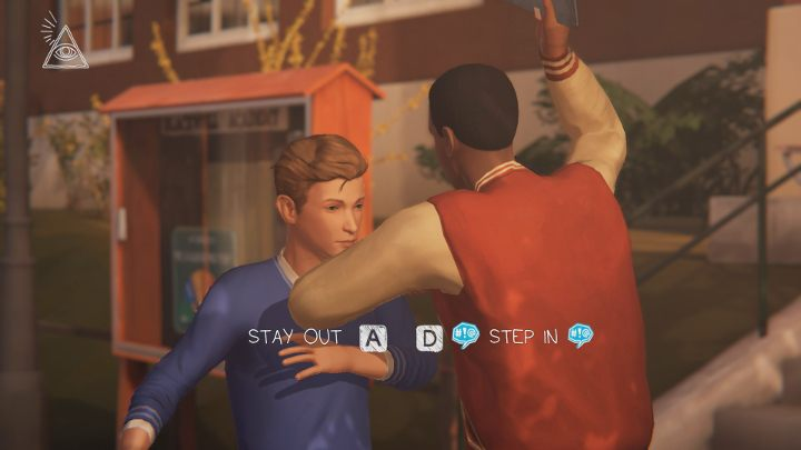 The third choice has to be made in front of the school (this Guides Chapter 3) - Important choices | Episode 1 - Awake - Episode 1 - Awake - Life Is Strange: Before the Storm Game Guide