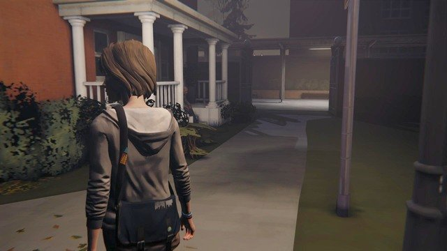 After the conversation with Dana leave the dormitories and head toward the parking lot - Chapter 1 | Episode 3: Chaos Theory - Walkthrough - Life is Strange Game Guide & Walkthrough