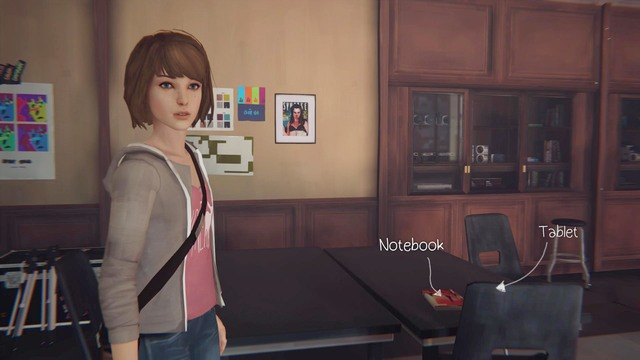 You can find the first one at the beginning of the game, in the classroom - Photos | Episode 1: Chrysalis - Choices and decisions - Life is Strange Game Guide & Walkthrough