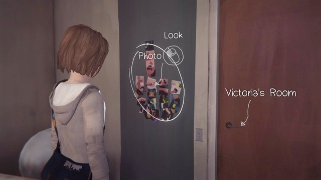 The next one can be taken in Victorias room - Photos | Episode 1: Chrysalis - Choices and decisions - Life is Strange Game Guide & Walkthrough
