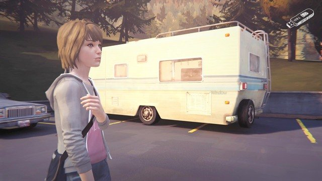 Take the eighth photo on the parking - Photos | Episode 1: Chrysalis - Choices and decisions - Life is Strange Game Guide & Walkthrough