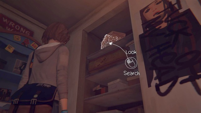 You will come cross this decision Chile searching through Chloes room - Decisions | Episode 1: Chrysalis - Choices and decisions - Life is Strange Game Guide & Walkthrough