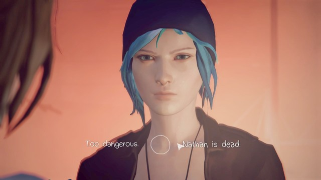 The last action in this chapter will be a conversation with Chloe - Chapter 2 | Episode 5: Polarized - Walkthrough - Life is Strange Game Guide & Walkthrough