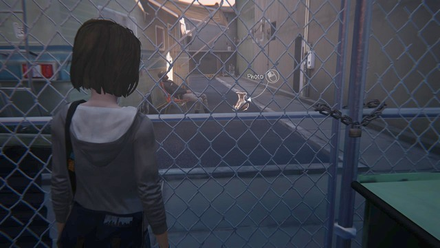 Go to the parking lot where you will find a trailer - Photos | Episode 2: Out of Time - Choices and decisions - Life is Strange Game Guide & Walkthrough