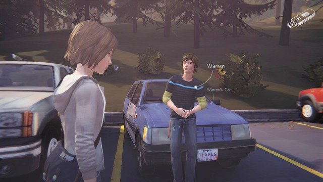 After getting to the parking go left, where you will find a van - Chapter 4 | Episode 1: Chrysalis - Walkthrough - Life is Strange Game Guide & Walkthrough