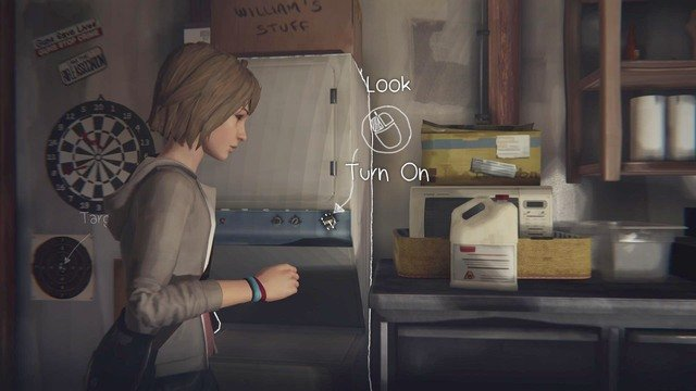 After turning the music on Chloe will let you go downstairs and search for some tools, that will help to mend your camera - Chapter 4 | Episode 1: Chrysalis - Walkthrough - Life is Strange Game Guide & Walkthrough
