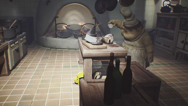 1 - First meeting with the cook | The Kitchen - The Kitchen - Little Nightmares Game Guide