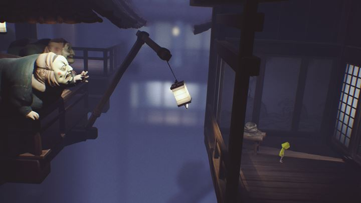 The lantern will finally bring you to safety. - Meeting with the cook and the final escape from the beasts | The Kitchen - The Guest Area - Little Nightmares Game Guide