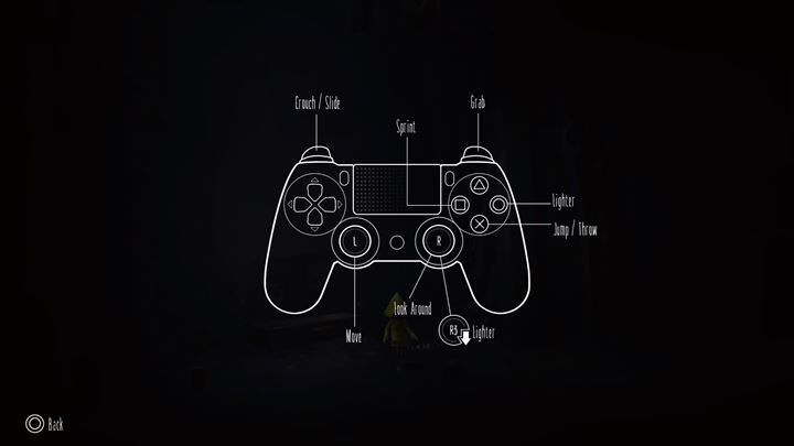 Button - Controls in Little Nightmares - Appendix - Little Nightmares Game Guide