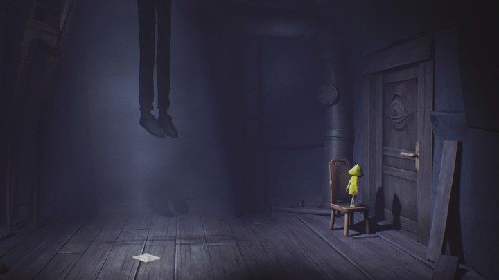 Set the chair like this. - Beginning (The Prison) - The Prison - Little Nightmares Game Guide