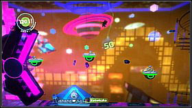 If you find a rhythm, you can in jump along the platform pretty much all the time - Into the Heart of the Negativitron - The Cosmos - LittleBigPlanet 2 - Game Guide and Walkthrough