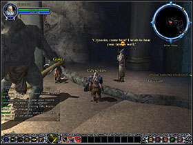 Go through the tunnel, beating 5 creatures total - Dwarves: Into the Silver Deep - Walkthrough - Lord of the Rings Online: First Steps - Game Guide and Walkthrough
