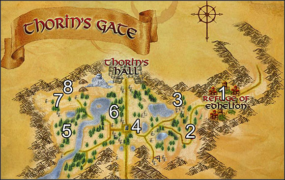 1 - Refuge of Edhelion - Introduction: Elves: Thorin's Gate - Walkthrough - Lord of the Rings Online: First Steps - Game Guide and Walkthrough