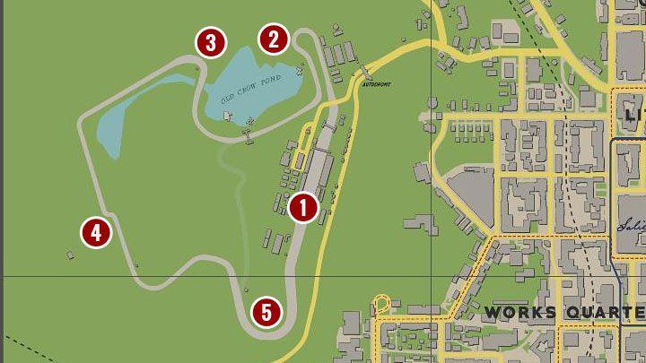 На картинке выше изображен ипподром, который находится в западной части карты мира. Как выиграть гонку? - Mafia 1 Remake - руководство, решение