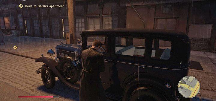 Второй вариант - открыть дверь машины отмычкой. Как угнать машину? - Mafia 1 Remake - руководство, решение