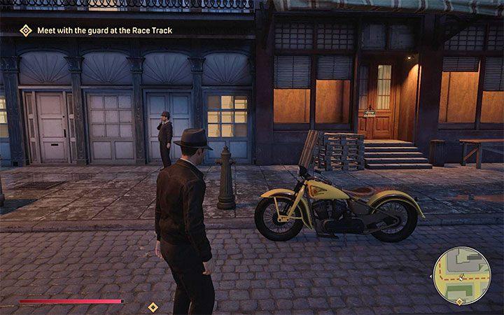 Третий вариант - угнать припаркованный кабриолет или мотоцикл. Как угнать транспорт? - Mafia 1 Remake - руководство, решение