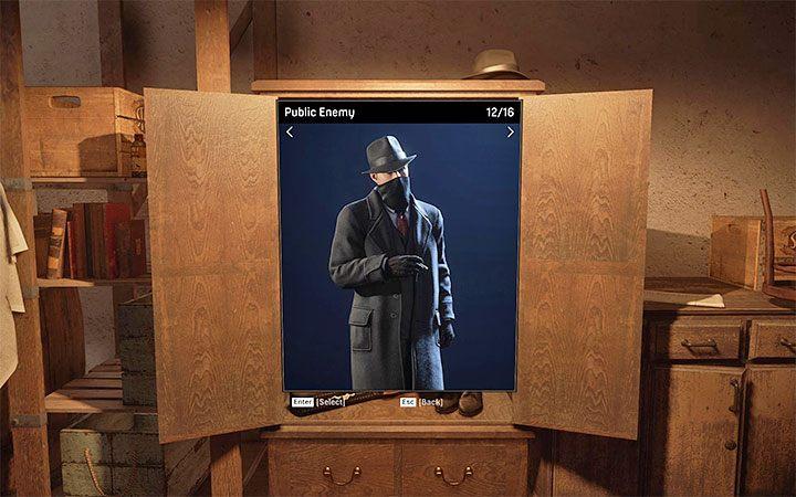 Public Enemy - это пальто с банданой из миссии Moonlighting - Как изменить внешний вид персонажа?  - Mafia 1 Remake - руководство, решение