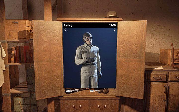 Гонки - Томми носит этот костюм после присоединения к гонке в миссии Fairplay - Как изменить внешний вид персонажа?  - Mafia 1 Remake - руководство, решение