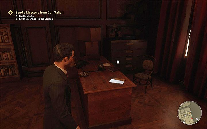 The magazine is inside the Corleone hotel visited during The Saint and the Sinner main mission - Mafia Definitive Edition: Dime Detective Magazines - list and locations - Secrets and finders - Mafia Definitive Edition Guide, Walkthrough