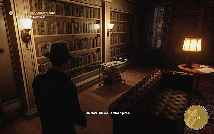 The magazine is located inside the prosecutor's mansion in Beech Hill - Mafia Definitive Edition: Dime Detective Magazines - list and locations - Secrets and finders - Mafia Definitive Edition Guide, Walkthrough