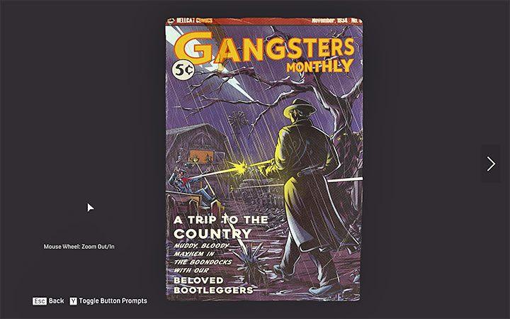 Комиксы Gangsters Monthly - вторая категория секретов в Mafia 1 Remake - Типы секретов - Mafia 1 Remake - руководство, прохождение