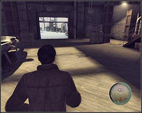 توجه داشته باشید که ویتو پس از بارگذاری یک جعبه به اندازه کافی خواهد داشت و او به شما اطلاع که این کار بمکد # 1 - فصل 3 - دشمن حکومت - ص 1 - خرید - مافیا II - بازی راهنمای خرید و